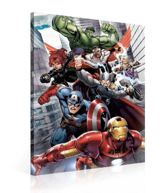 Large size Marvel Avengers Canvas Prints | Homewallmurals Shop